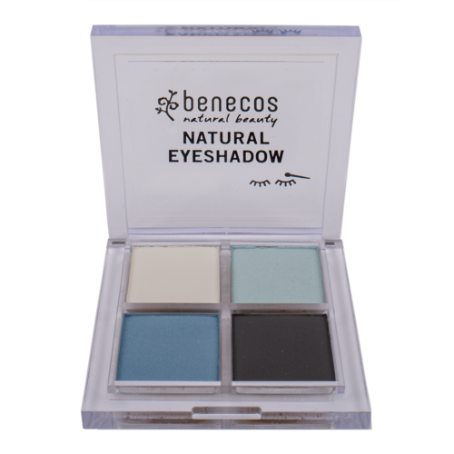 Benecos Natural Eyeshadow Quatro - True Blue