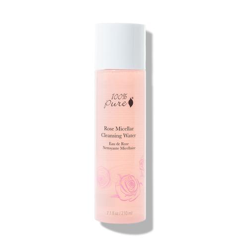 100% Pure Rose Micellar Cleansing Water