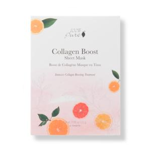 100% Pure Sheet Mask: Collagen Boost (5 stuks)