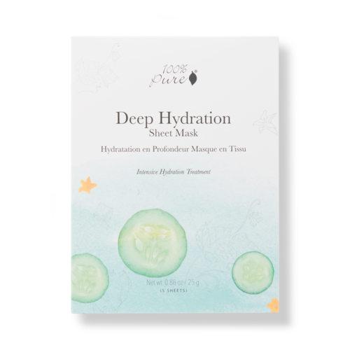100% Pure Sheet Mask: Deep Hydration (5 stuks)