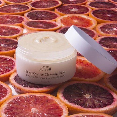 100% Pure Blood Orange Cleansing Balm