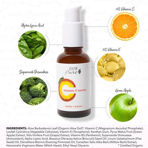 100% Pure Vitamin C Serum
