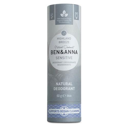 Ben & Anna Deodorant Sensitive - Highland Breeze