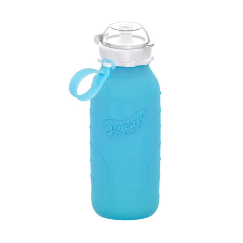 Squeasy Gear Silicone Squeeze Bottle 480ml - Blue