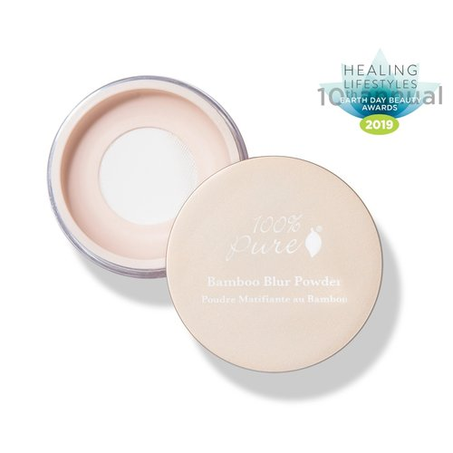 100% Pure Blur Bamboo Powder - Translucent