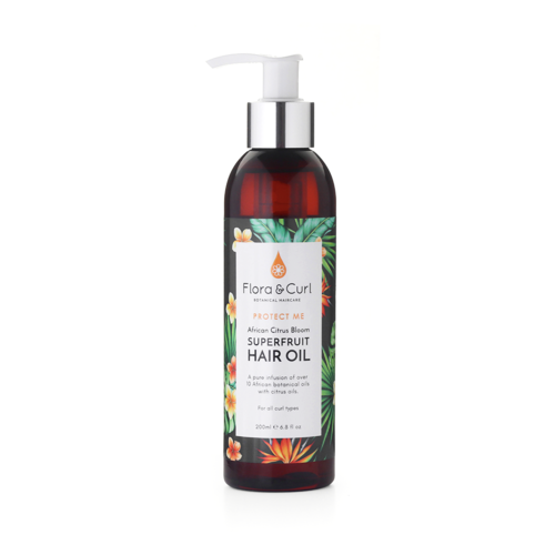 Flora & Curl African Citrus Bloom Scalp & Hair Oil