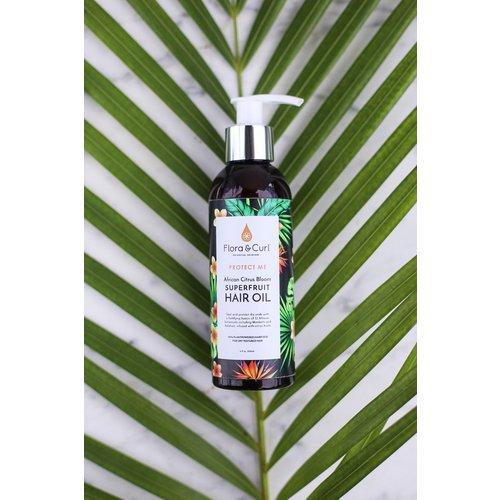 Flora & Curl African Citrus Bloom Scalp & Hair Oil