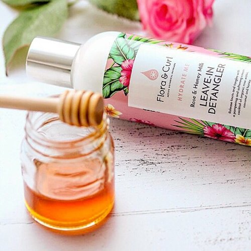 Flora & Curl Rose & Honey Milk Leave-in Detangler