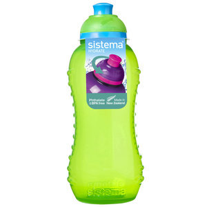 Sistema Drink Bottle Squeeze 330ml – Green