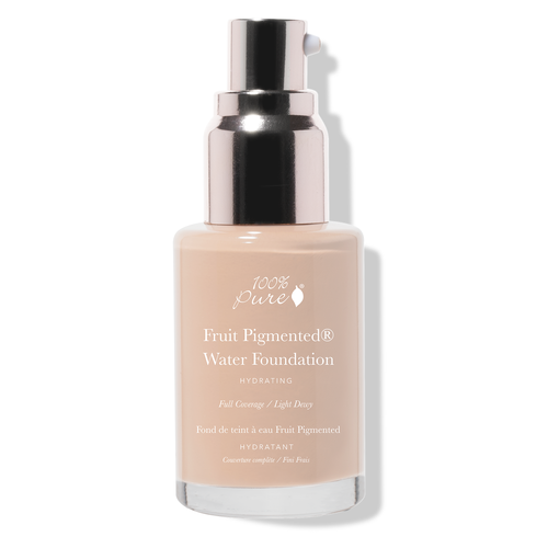 100% Pure Fruit Pigmented® Full Coverage Water Foundation - Lichte Huid