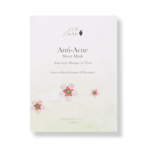 100% Pure Sheet Mask -  Anti Acne (5 stuks)