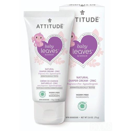 Attitude Natural Diaper Cream Zinc