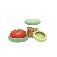 Set of 3 Big Food Huggers - Soft Greens