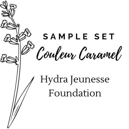 Couleur Caramel Sample Set Hydra Jeunesse Foundation