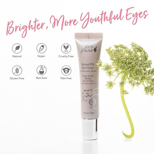 100% Pure Retinol PM Eye Cream