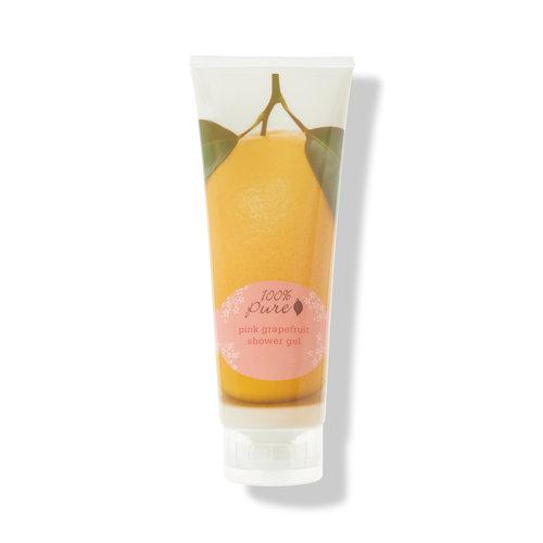 100% Pure Shower Gel - Pink Grapefruit