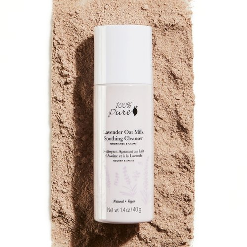 100% Pure Lavender Oat Milk Soothing Cleanser