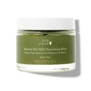 100% Pure Matcha Oat Milk Nourishing Mask