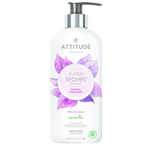 Attitude Natural Hand Soap - White Tea Leaves