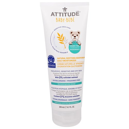 Attitude Baby Soothing Bodycream – Daily Moisturizer
