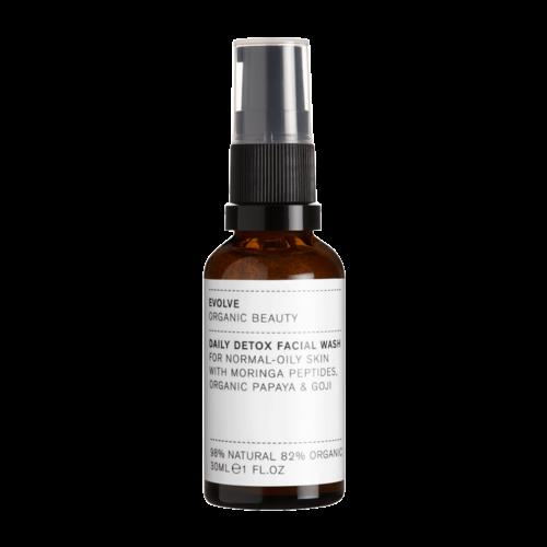 Evolve Beauty Daily Detox Facial Wash (30ml) - Travel Size