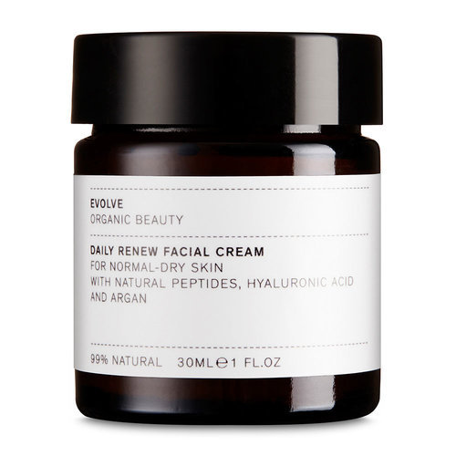 Evolve Beauty Daily Renew Facial Cream (30ml) - Travel Size