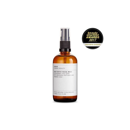 Evolve Beauty Daily Detox Facial Wash (100ml)