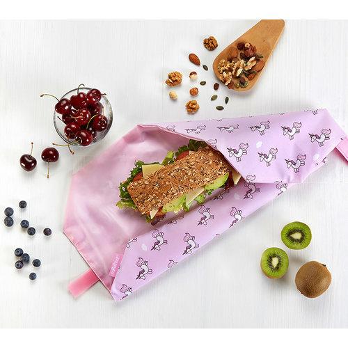 Roll'Eat Boc'n'Roll Foodwrap - Unicorns