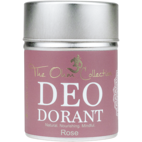 The Ohm Collection Deodorant Poeder Zonder Aluminium 120g - Rose