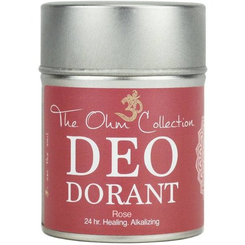 The Ohm Collection Deodorant Poeder - Rose