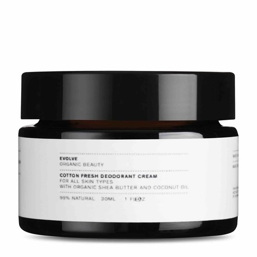 Evolve Beauty Cotton Fresh Deodorant Cream