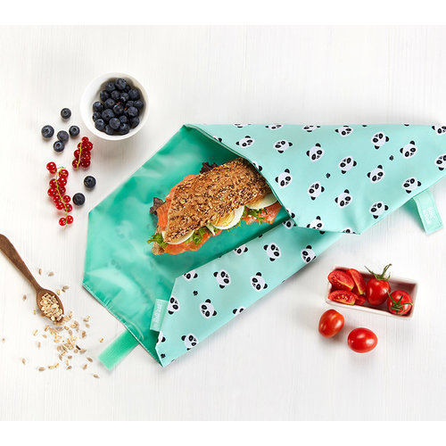 Roll'Eat Boc'n'Roll Foodwrap - Panda