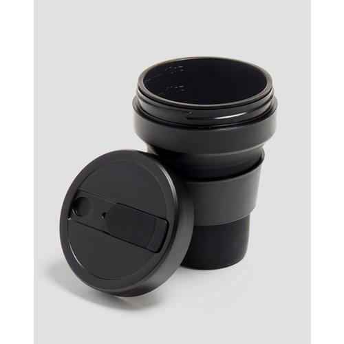 Stojo Opvouwbare Koffiebeker 355ml - Zwart