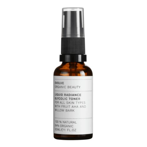 Evolve Beauty Liquid Radiance Glycolic Toner (30ml)  - Travel Size