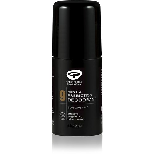 Green People For Men - No. 9 Mint Deodorant & Prebiotics (75ml)