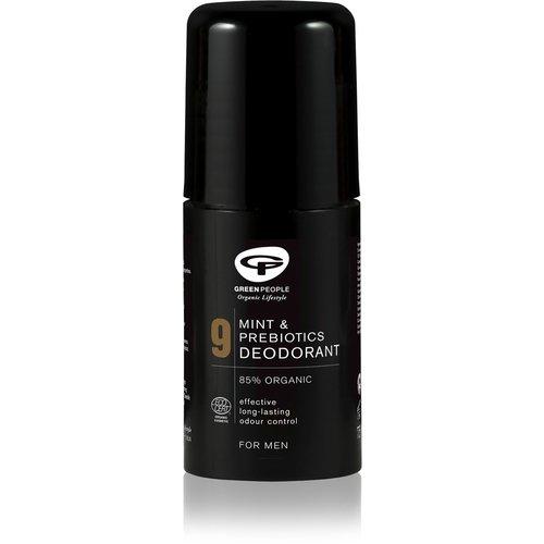 Green People For Men - No. 9 Mint & Prebiotics Deodorant