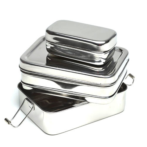 Eco Lunchbox RVS Lunchbox 3-in-1