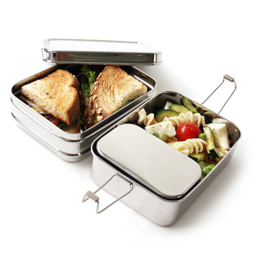 Eco Lunchbox Stainless Steel Lunchbox 3-in-1