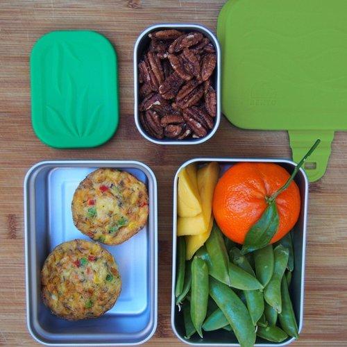 Blue Water Bento RVS Lunchbox ECO Splash box -3 in 1 Lekvrij
