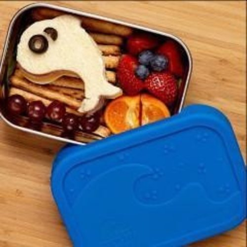 Blue Water Bento Stainless Steel Lunchbox Eco Splash Box Leakproof
