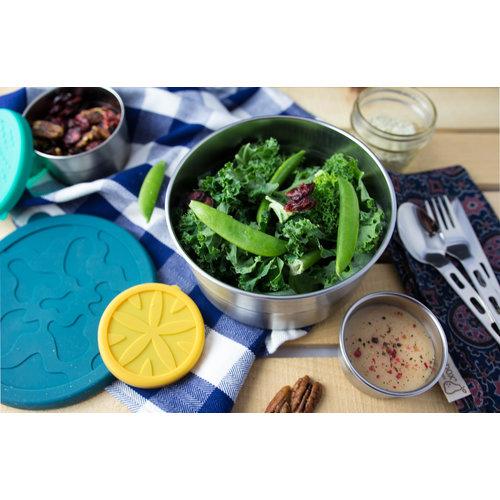 Blue Water Bento RVS Lunchbox - Seal cup XL Lekvrij