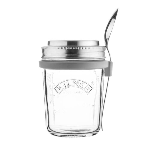 Kilner Breakfast to Go Glass Jar