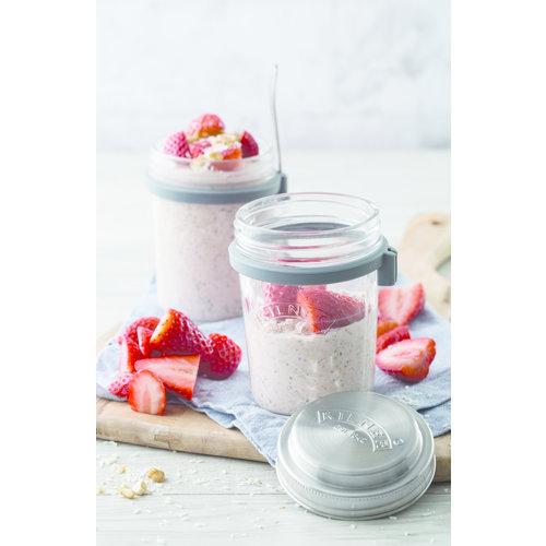 Kilner Glazen Breakfast to Go Jar