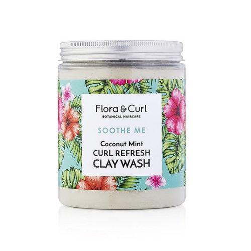 Flora & Curl Curl Refresh Clay Wash