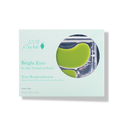 100% Pure Bright Eyes Mask (5 stuks)