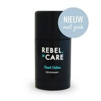 Deodorant Voor Mannen Rebel Care XL - Fresh Cotton