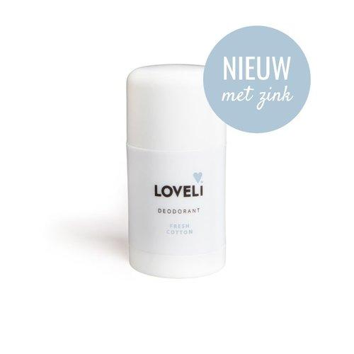 Loveli Deodorant Zonder Aluminium - Fresh Cotton (30ml)