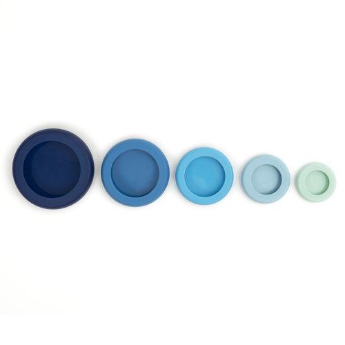 Food Huggers Ice Blue Food Huggers - 5 stuks