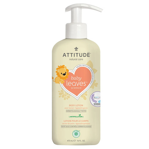 Attitude Baby Leaves Body Lotion - Pear Nectar