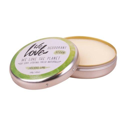 We Love The Planet Deodorant Creme Vegan - Luscious Lime